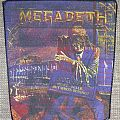 Megadeth - Patch - Megadeth Peace Sells... But Who's Buying Vintage Backpatch