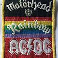 Motörhead - Patch - Motörhead + Rainbow + AC/DC (Festival?) Woven Patch (WANTED)