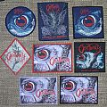 Obituary Cause of Death Original and Bootleg Patches