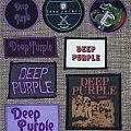 Deep Purple - Patch - Deep Purple Woven Patches