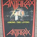 Anthrax - Patch - Anthrax Among the Living Vintage Backpatch