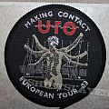 UFO - Patch - UFO Making Contact European Tour '83 Circle Patch (WANTED)