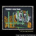 Tygers of Pan Tang UK Tour '82 Original Woven Patch