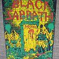 Black Sabbath - Patch - Black Sabbath The Mob Rules Vintage Backpatch