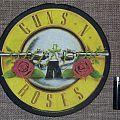 Guns N' Roses - Patch - Guns N' Roses Original Circle Backpatch
