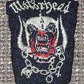 Motörhead - Patch - Motörhead Snaggletooth Vintage Tour Shape Patch
