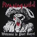 Running Wild Welcome To Port Royal Tour '89 T-shirt