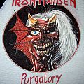 IRON MAIDEN Purgatory (with bloody written) T-jersey (black/white) 1982-83 US TShirt or Longsleeve
