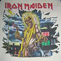 Iron Maiden Killers World Tour 1981 T-jersey (blue &white)  TShirt or Longsleeve