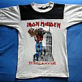 IRON MAIDEN The Beast In New York rugby T-shirt Tour82