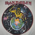 IRON MAIDEN  World Piece Tour '83 Muscle-sweater USA/CANADA Tour(Aug26-Oct21) TShirt or Longsleeve