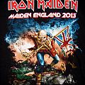 Iron Maiden  - Maiden England 2013 Hooded-sweat Hooded Top