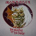 Iron Maiden  Purgatory (W/The Nuber of The Beast) T-shirt (grey)