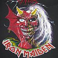 Iron Maiden promo shirt with copyright 1981