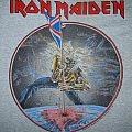 IRON MAIDEN The Beast on The Road (grey) T-shirt USA Tour 82