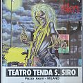 IRON MAIDEN  Milan '81 Tour-poster (first Dickinson Tour) Other Collectable