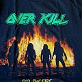 Overkill - Feel the fire shirt