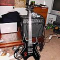 B.C. Rich Warbeast with Hell sticker