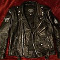 Leather Jacket w/Dark Ambient Black Metal Theme
