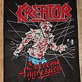 """Kreator """"Extreme Aggression"""" Embriodery Backpatch"""