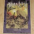 """Morgoth """"Odium"""" Original Sticker w/ Full Member Sign from 1993 Other Collectable"""