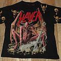 """Slayer """"Pink Demon"""" All Over Vintage Shirt"""