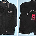 Queensryche - Battle Jacket - Queensryche - Empire - embroided black denim jacket issues as promo item by EMI...