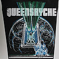 Queensryche - Patch - Queensryche - The Warning - backpatch, unofficial