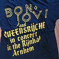 Queensryche - Rage for order - bootlet shirt from the tour with Bon Jovi