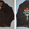 Queensryche - Battle Jacket - Queensryche - Empire - embroided black denim jacket from MTV Headbangers ball