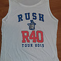 Rush - official R40 tourshirt 2015