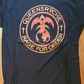 Queensryche - Rage for order - official tourshirt - Rage Tour 1986-1987 yellow lettering/backprint