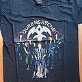 Queensryche - Rage for order - official tourshirt -  Rage Tour  1986-1987 backprint in gold