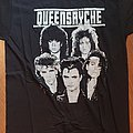 Queensryche - Rage for order - official shirt from the fanclub - variant 1 with EP-logo/pic on the back