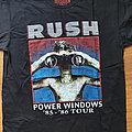 Rush - TShirt or Longsleeve - Rush - Power windows - reprinted shirt
