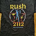 Rush - TShirt or Longsleeve - Rush - 2112 - official shirt - 40th anniversary