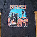 Rush - TShirt or Longsleeve - Rush - Moving Pictures - official reprinted tour shirt