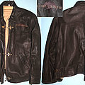 Queensryche - Battle Jacket - Queensryche - Promised Land - promo leather jacket with embroided logo on chest