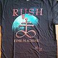 Rush - Time Machine - official tourshirt