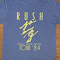 Rush - Grace Under Pressure - official reprinted tourshirt