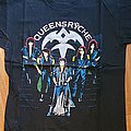 Queensryche - Rage for order - official tourshirt -  Rage Tour  1986-1987 backprint in silver