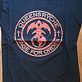 Queensryche - Rage for order - official tourshirt - Rage Tour 1986-1987 gold lettering/backprint