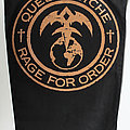 Queensryche - Patch - Queensryche - Rage For Order - official backpatch