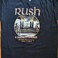 Rush - TShirt or Longsleeve - Rush - A farewell to kings - official shirt for the 40th anniversary