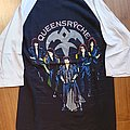 Queensryche - Rage for order - official tourshirt - 3/4 sleeves - Rage Tour  1986-1987 backprint in yellow