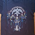 Queensryche - Rage for order - official tourshirt -  Rage Tour backprint in silver