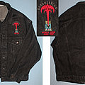 Queensryche - Battle Jacket - Queensryche - Empire - embroided black denim jacket for the 1990 - 1991 world...