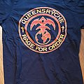 Queensryche - Rage for order - official reprinted tourshirt from 2018 - US dates backprint