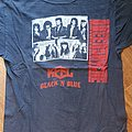 Queensryche - Rage for order - bootleg shirt from the tour with Keel & Black'n'blue