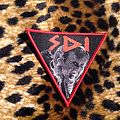 S.D.I. - Satan's Defloration Incorporated Triangle Red Border Patch